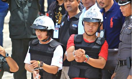 Burmese murder suspects, Thailand